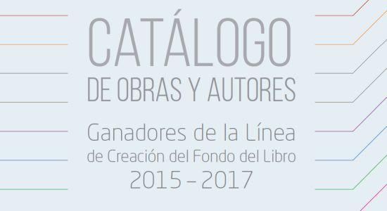 Autores Ganadores De La Línea De Creación Del Fondo Del Libro 2015 2017 Estela Socias Muñoz